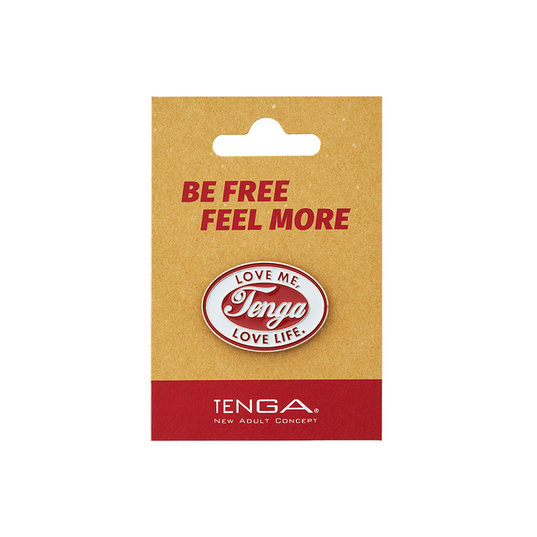 TENGA PIN BADGE Ellipse